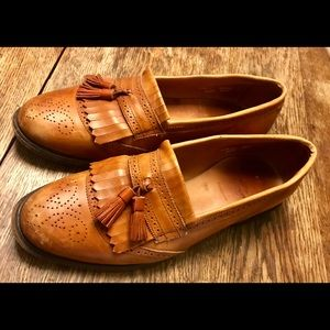 Allen Edmonds Bridgeton Leather Wingtip Loafers